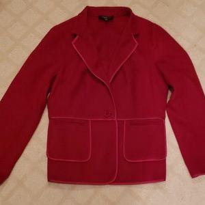 Gorgeous red blazer jacket